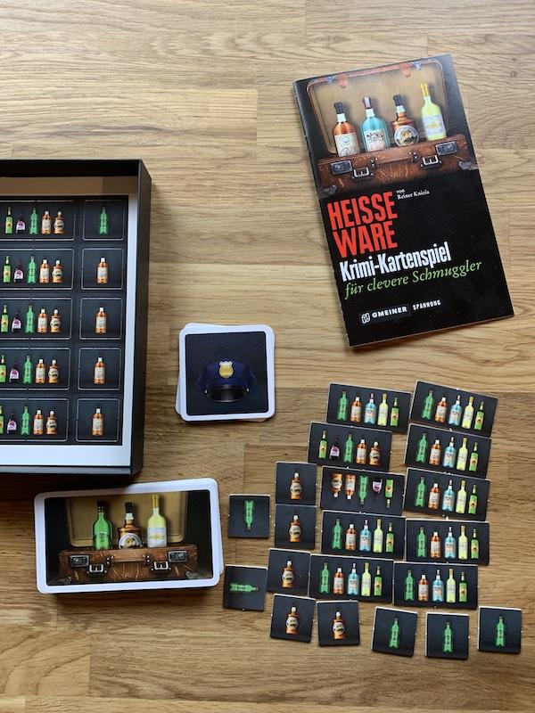 Kartenspiel Heisse Ware Krimi-Kartenspiel