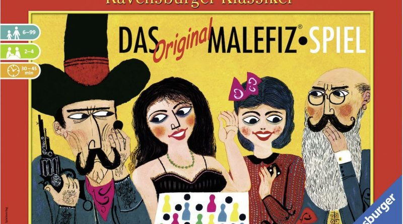 Das Original Malefiz Spiel