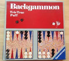 Backgammon Tric Trac Puff Spielanleitung