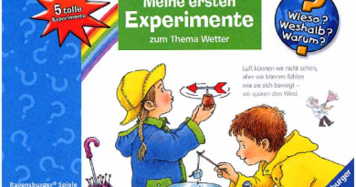 Wieso Weshalb Warum Meine Ersten Experimente Zum Thema Wetter