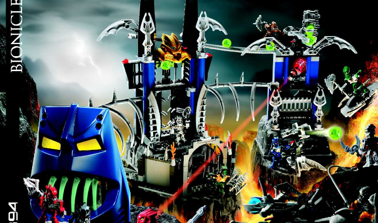 Bionicle - Piraka Stronghold