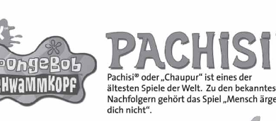 NICK Spongebob Schwammkopf Pachisi
