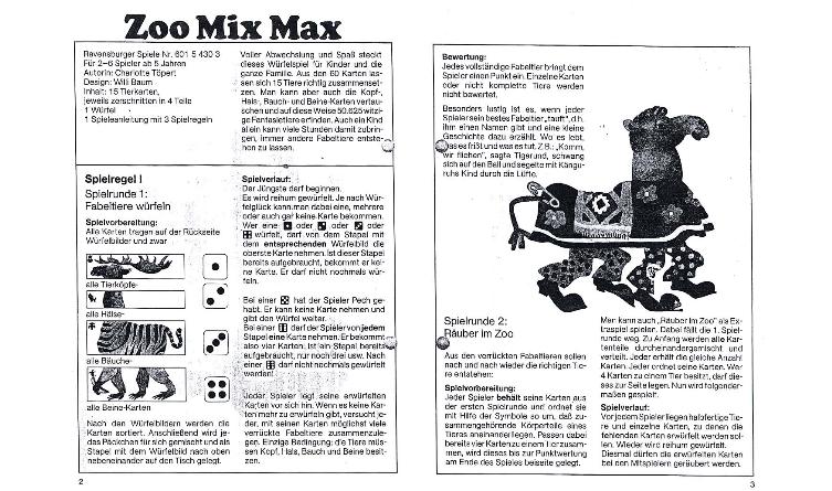 Zoo Mix Max