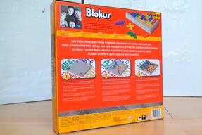 Blokus Spielkarton Rückseite
