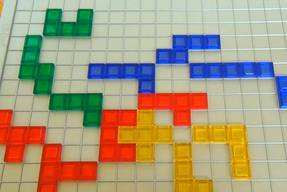 Blokus Strategiespiel Legesystematik