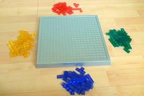 Blokus Strategiespiel Spielbrett und Spielsteine