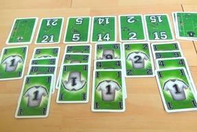 Das Ligretto Fussballspiel Kartendeck