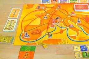 Das Spiel Die Geissens - Spielfeld 1