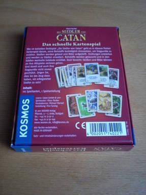 Die Siedler von Catan Kartenspiel Rückseite