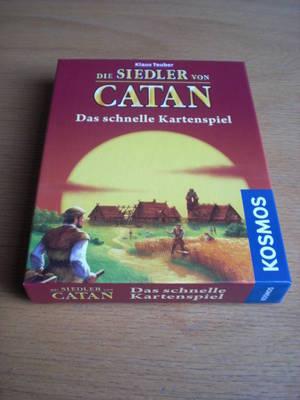 Die Siedler von Catan Kartenspiel Karton Vorderseite