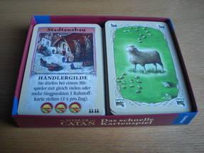 Die Siedler von Catan Kartenspiel Spielinhalt
