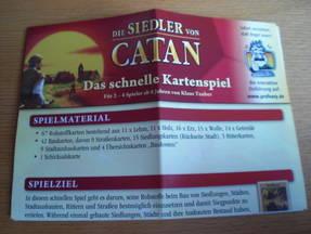 Die Siedler von Catan Spielanleitung