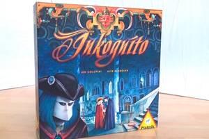 Inkognito Spielkarton Vorderseite