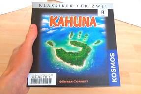 Kahuna Spielkarton Vorderansicht