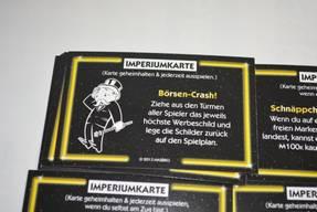 Monopoly Imperium - Imperiumkarte Börsen Crash