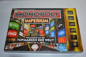 Monopoly Imperium - Karton Vorderseite
