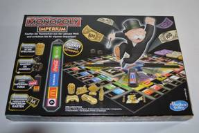Monopoly Imperium - Karton Rückseite