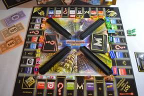 Monopoly Imperium - Spielfeld aufgebaut