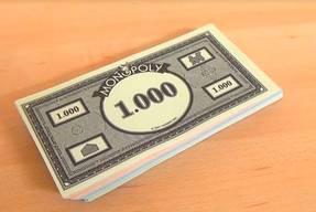 Monopoly das Kartenspiel - Spielgeld