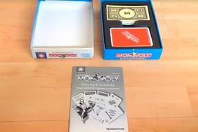 Monopoly das Kartenspiel - Spielinhalte 1