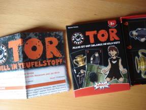 Die Wilden Kerle Tor - Verpackung und Anleitung im Karton -13