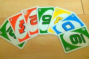 Uno Spin Spielkarten