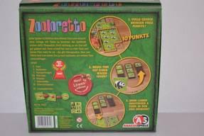 Zooloretto - Karton hinten