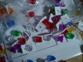 Bejeweled - Juwelen Spielsteine durcheinander
