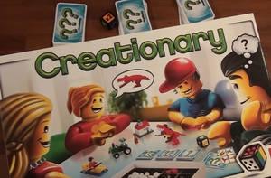 Creationary - Karton Cover mit Aufgabenkarten