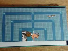 Loriot - Mühlespiel - Verpackung mit Spielbrett
