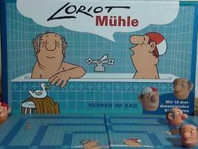 Loriot - Mühlespiel - Verpackung mit Spielbrett 4