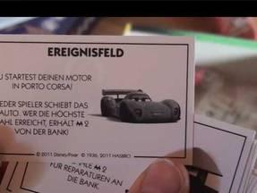 Monopoly Cars - Ereigniskarten