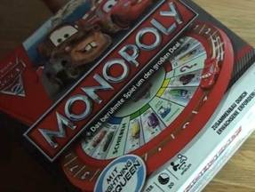 Monopoly Cars - Box