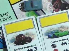 Monopoly Cars - Besitzkarten Onkel Topolino und Carla V
