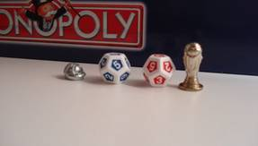 Monopoly WM Fussball Edition France 98 - Figuren
