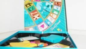 Trivial Pusuit - Box mit Spielbrett