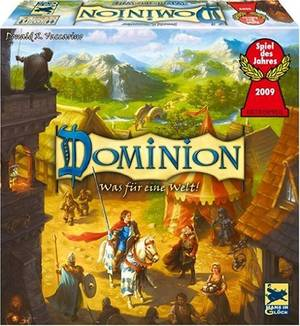 Dominion im Spielekarton - Cover