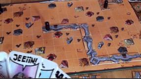 Drunter & Drüber - Spielfeld und Legeplättchen