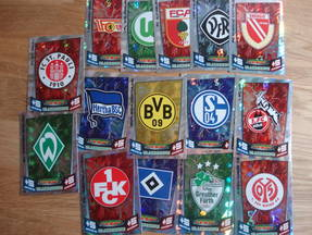 Topps Fußball Bundesliga Match Attax 10