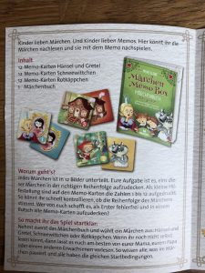 Märchen Memo Box 8
