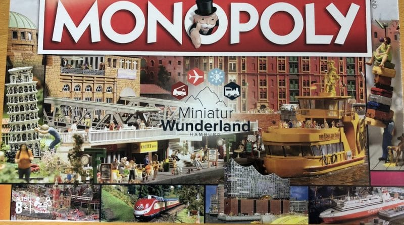 "Monopoly ""Miniatur Wunderland Hamburg Edition"" 23"