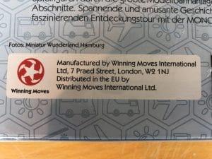 "Monopoly ""Miniatur Wunderland Hamburg Edition"" 19"