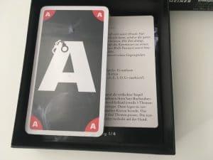 Chiffre - Duell der Code-Knacker Karten