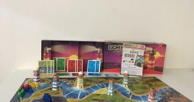 """Taktisches Rennspiel für die ganze Familie """"Lighthouse Run"""" von AMIGO Spiele"""