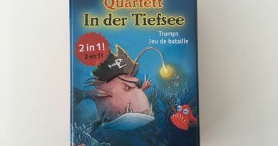 """""""Capt'n Sharky Quartett – In der Tiefsee"""" Verpackung Blechdose"""