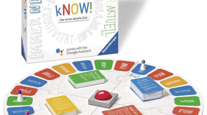 kNOW! Ravensburger Quizspiel mit Google Home MinI