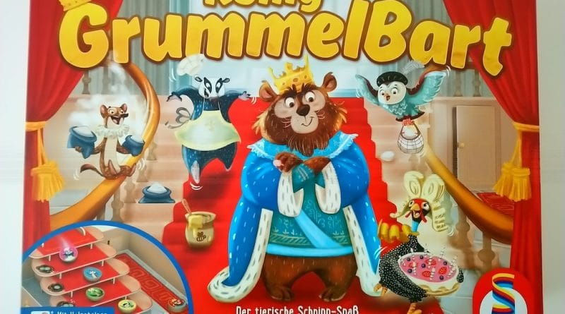 Koenig Grummelbart von Schmidt Spiele