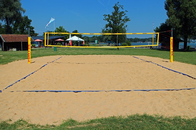 Beachvolleyball Feld