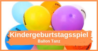 Ballon Tanz - Spiel für die Geburtstagsfeuer