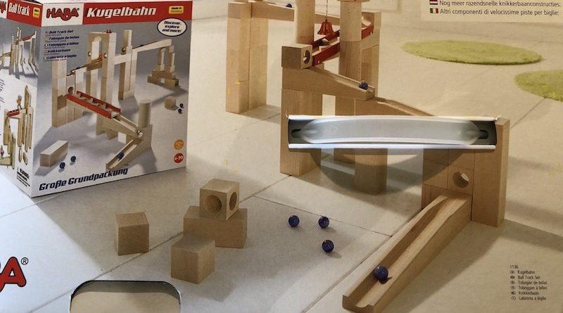 Kugelbahn / Murmelbahn Master Construction Kit von HABA